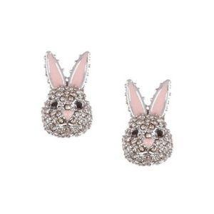 ♠️ Kate Spade Pave Bunny Earrings NWT
